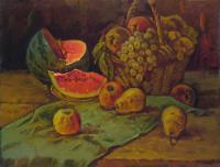 Still life with water-melon