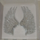 large hand sculpted real mirror  Angel wings